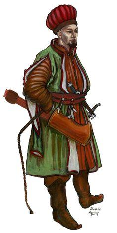 Tatar warrior, 17th century