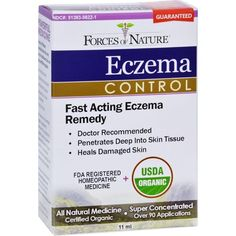 New advancement in the treatment of eczema. Results guaranteed. Eczema Control is a new breakthrough in the fight against eczema - it is the first ever FDA Registered eczema treatment which is certified organic! It is to be applied topically directly to a flare up. We are so confident it works that we back results with an unconditional one year money back guarantee. Treats and heals eczema Rejuve... * You can get more details by clicking on the image.