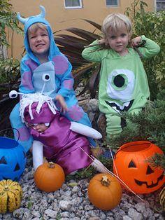 Monsters Inc Homemade Costumes (paulandjessieberg.blogspot.ca)
