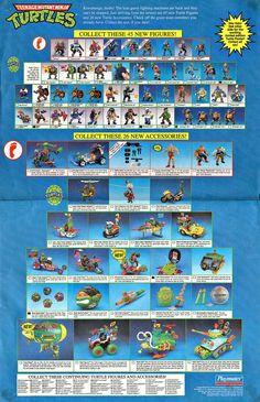 TMNT 80s figurines
