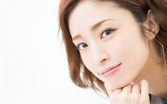 Herunterladen hintergrundbild aya ueto, japanische sängerin, porträt, schöne japanische frau