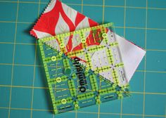 Some of my favorite things are start quilt blocks, charm squares, and the scrappy look. So, I've combined all of those into this bright star block. For another look, use low volume fabrics a…