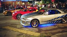 Fast and the furious cars