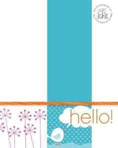 Happy Hello, MDS, My Digital Studio, Stampin' Up!