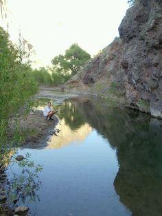 Fishing in Eagle Creek, AZ