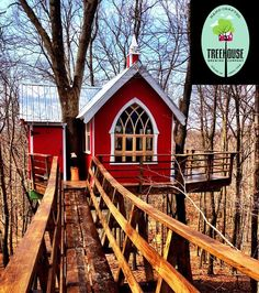 One of the neatest things I've ever heard of: a treehouse for adults that functions as a microbrewery!