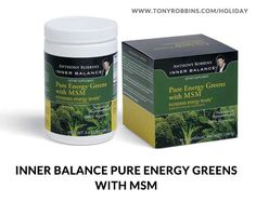 Pure Energy Greens with MSM is a specially formulated blend of 100% organic, fresh and alkaline-forming green vegetables and natural fibers that help return the blood and tissues to a healthy pH balance. Pure Energy Greens increases energy levels, provides hydration and alkalinity to increase blood pH. Take one teaspoon in 16 oz. water 3 times daily.