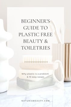 Learn why plastic is a problem and 10 easy swaps to make for plastic free beauty and toiletries. Click to read more Wooden Brush, Magnetic Palette, Plastic Free July, Shampoo Bar, Natural Deodorant, Cotton Pads, Place Card Holders, Easy
