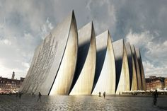 Catedral Plegada / Axis Mundi
