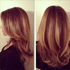 Balayage Highlights Red Hair