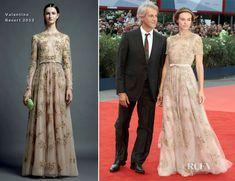 Kasia Smutniak In Valentino - 'The Master' Venice Film Festival Premiere