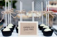 Dulces ideas para bodas: cake pops