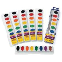 Colorations® Regular Best Value Watercolor Paints - Set of 6 Refills, 8 Colors