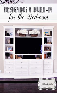 Designing A Built-in Shelf For A Bedroom
