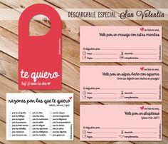 Detalles amorosos anticrisis para el día de San valentín (descargable gratuito)