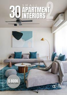 30 small apartment interiors-E-book-Vol-2 Small Apartment Interior, Small Apartment Design, Cool Apartments, Design Firms, Design Inspiration, Interior Ideas, Furniture, Interiors, Architecture