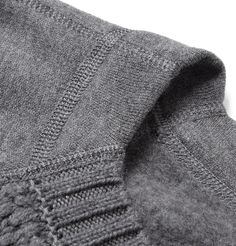 Bottega Veneta - Contrast-Front Cotton-Blend Sweater | MR PORTER