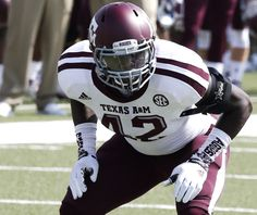 Otaro Alaka #42 LB Texas A&M at SMU Photo Gallery by Will Leverett - Good Bull Hunting
