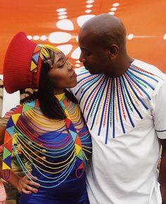 Zulu Traditional Wedding Dresses, Zulu Traditional Attire, African Traditional Wear, African Wedding Dress, African Print Dresses, African Dress, African Shirts For Men, African Men, Zulu Wedding