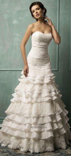 Timelessly Elegant A-Line Wedding Dresses