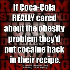 Coca Cola could help out!