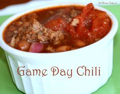 Game Day Chili recip