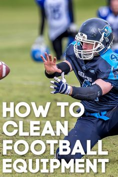 Yes, boys sweat a lot! Learn how to clean football equipment or you'll have some gross pads laying around. Football Pads, Football Helmets, Football Equipment, Cleaning Equipment, Sports Mom, Survival Guide, Boys, Pregnancy, Parenting