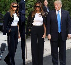 Melania Trump chega em Paris e Glamurama conta detalhes do tour e dos looks! | Moda | Glamurama