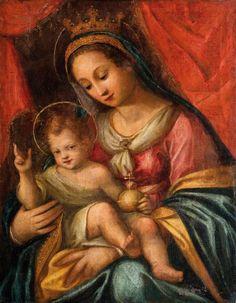 Madonna with Child Italian School