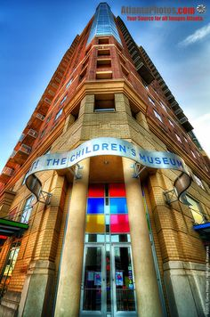 The Children's Museum downtown in Centennial Olympic Park.