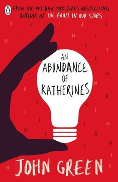 An Abundance of Katherines by John Green. Green is an amazing author. I don't believe he can do anything wrong when he writes a book.