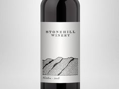 Stonehill Norton Label designed by Clay Knight. Wine Design, Label Design, Tomato Juice, Wine Label, Bottle Labels, Knight, Packaging, Clay, Stone