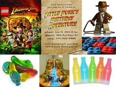 Two Crazy Cupcakes: Twins Party Planning Time...Lego Indiana Jones Party