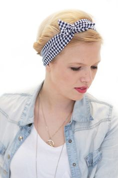 Rockabilly hairband