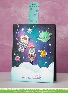 Hi there and happy Monday! Today I have another two projects to celebrate Lawn Fawn release week ! We're featuring Out of this World,...