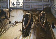 'Les raboteurs de parquet (The Floor Scrapers), by Gustave Caillebotte, 1875