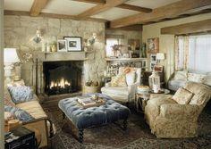 """""""Holiday"""", 2006 - angielski dom Iris (Kate Winslet. / Iris (Kate Winslet) English cottage."""
