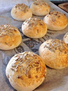 recept_glutenfritt_bröd Foods With Gluten, Artisan Bread, Fodmap, Paleo, Food And Drink, Gluten Free, Healthy Recipes, Healthy Food, Baking