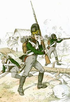 Fuciliere del battaglione leggero bavarese