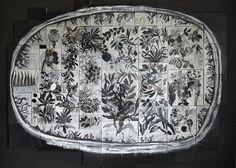 Massimiliano Fabbri / Memoria vegetale. Crescita mondo giardino foresta notte 2015-16 olio su tela e legno, cm 260x330 http://www.biennaledisegnorimini.it/mostre/vie-di-dialogo/