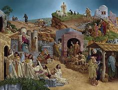 Parables - James C. Christensen - twelve parables that exemplify this style of Jesus' teachings.