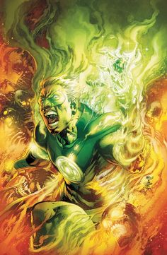 EARTH 2 #3  Written by JAMES ROBINSON  Art by NICOLA SCOTT and TREVOR SCOTT  Cover by IVAN REIS and JOE PRADO  • The all-new origin of ALAN SCOTT GREEN LANTERN – unlike any GL origin that's come before!  • The debut of the all-new HAWKGIRL!  • And Jay Garrick, THE FLASH, meets his first Super Hero!