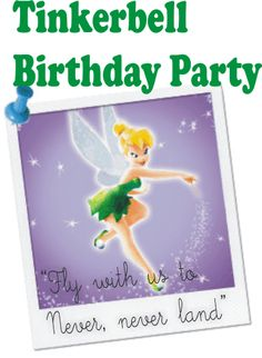 Tinkerbell birthday parties