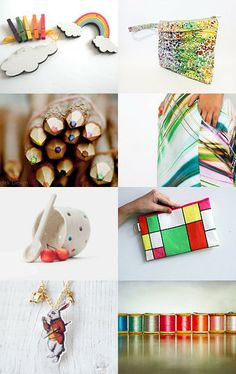 spring colors by Sharon on Etsy--Pinned with TreasuryPin.com