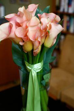 Gorgeous Calla Lily arrangement.