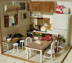 mini kitchen room box