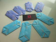 Envelope Origami designed by Makoto Yamaguchi   meirehirata.com Follow me on Instagram: Meire Hirata Origami
