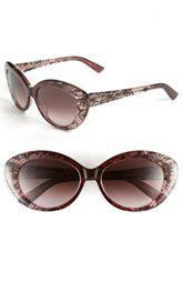 Valentino Cat's Eye Sunglasses Valentino Sunglasses, Purple Cat, Cat Eye Glasses, Eye Candy, Sunglasses Women, Fashion Accessories, Nordstrom, My Style, Istanbul
