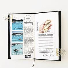 June Travelers Notebook  by mamaorrelli at Studio Calico