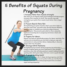 """Are Squats Safe to do During Pregnancy Squats during pregnancy, should you squat when you are pregnant? Squats are a safe exercise to do and they have many benefits for the prenatal mum"""", """"pinner"""": {""""username"""": """"first_name"""": TummySafe Fitness Post Pregnancy Workout, Prenatal Workout, Prenatal Yoga, Pregnancy Health, Pregnancy Tips, After Pregnancy Body, Pregnancy Fitness, Pregnancy Belly, Pregnancy Fashion"""